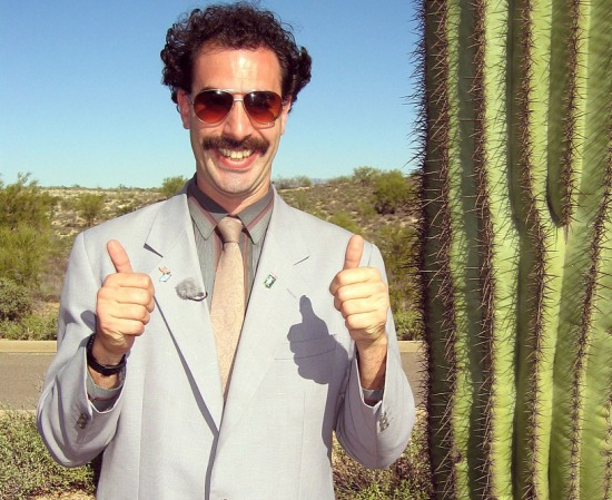 Borat Thumbs Up