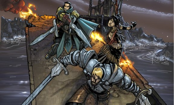 IDW has released details on its upcoming Dragon Age comic book coming in