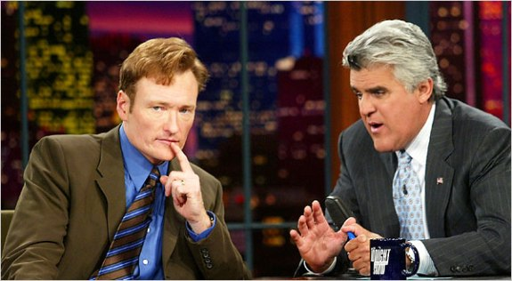 Conan Obrien and Jay Leno The Late Shift II: Conan OBrien Issues Lengthy Statement, Tells NBC to Suck It