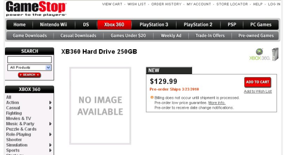 Xbox 360 hard drive 250gb gamestop 250GB Xbox 360 Hard Drive Listed on    Xbox 360 E Hard Drive Gamestop
