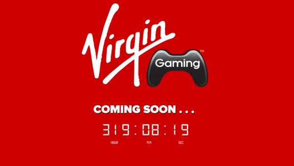 Virgin Gaming Countdown clock Virgin Returns to Games with...a Frickin Countdown Clock