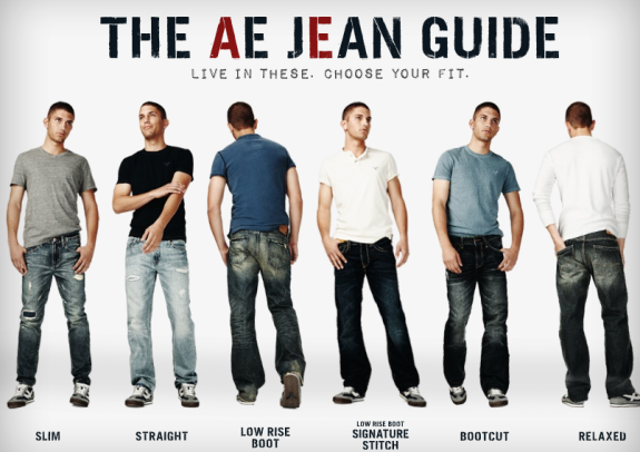 American Eagle is a clothing company that specializes in jeans for everyday wear. Like most percent cotton jeans, they will shrink if put in the dryer or held under heat for a long period of time.