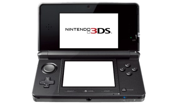 Nintendo 3DS black Nintendo 3DS Getting 3D Pokedex on June 6
