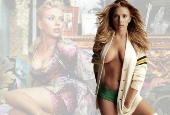 Scarlett Johansson 3 Scarlett Johansson, Jennifer Aniston Get Hollywood Stars