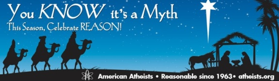 American Atheists You Know its a Myth Internet Atheists vs. Internet Christians
