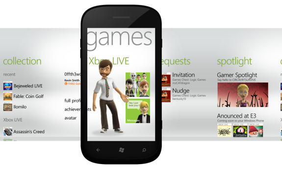 Mango Windows Phone Xbox Live Windows Phone Mangos Xbox Live Features Detailed