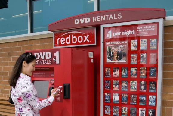 Redbox kiosk Redbox Videogame Rental Contest Celebration Extravaganza!
