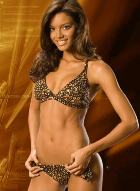 Zuleyka Rivera 4 NBA Finals Hotness: Zuleyka Rivera (JJ Bareas Girlfriend)
