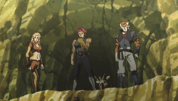 GroupShot ThunderCats (Cartoon Network) First Looks Preview