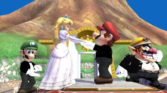 Mario Peach wedding Congratulations to bsukenyan!!!